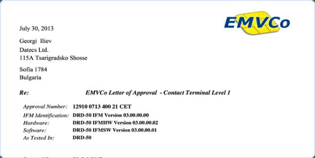 EMV Level 1