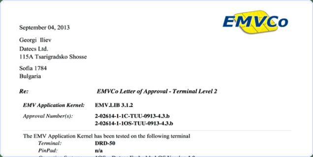 EMV Level 2